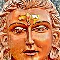 Bronze Shiva Statue - Uttarkashi India by Kim Bemis
