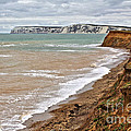 Brook Bay And Chalk Cliffs by Jeremy Hayden