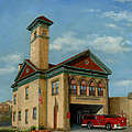 Brookline Historical Engine House by Cecilia Brendel