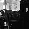Brooklyn Bridge 1970 by John Schneider