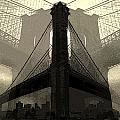 Brooklyn Bridge Abstract by Jeff Watts