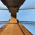 Brooklyn Bridge Abstract by Svetlana Sewell