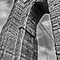 Brooklyn Bridge Arch - Vertical by Carlos Alkmin