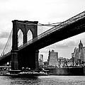 Brooklyn Bridge Circa 1955 by David Lobos