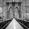 Brooklyn Bridge Infrared by Dave Beckerman