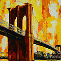 Brooklyn Bridge Landmark by Patricia Awapara
