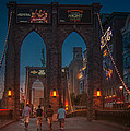 Brooklyn Bridge In Las Vegas by Eduardo Tavares