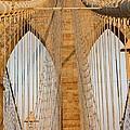 Brooklyn Bridge by Mary Ann Teschan