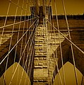 Brooklyn Bridge by Monique's Fine Art