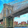 Brooklyn Bridge New York 20130426 by Wingsdomain Art and Photography