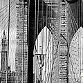 Brooklyn Bridge New York City Usa by Sabine Jacobs