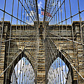 Brooklyn Bridge Ny by Kelley King