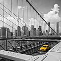 Brooklyn Bridge View Nyc by Melanie Viola