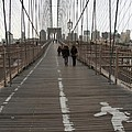 Brooklyn Bridge Walkway by Christiane Schulze Art And Photography