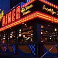 Brooklyn Diner Usa by James Kirkikis