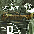 Brooklyn Nets by Karol Livote