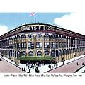 Brooklyn - New York - Flatbush - Ebbets Field - 1928 by John Madison