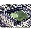 Brooklyn - New York - Flatbush - Ebbets Field - 1940 by John Madison