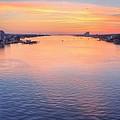 Brooks Bridge Sunset by JC Findley