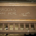 Brooks Was Here by Jack R Perry