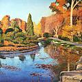 Brookside Garden by David Zimmerman