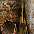 Brooms   #0112 by J L Woody Wooden