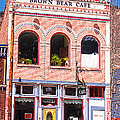 Brown Bear Cafe Silverton Colorado by Janice Rae Pariza