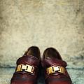 Brown Children Shoes by Jaroslaw Blaminsky