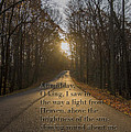 Brown County State Park Nashville Indiana Biblical Verse by David Haskett II