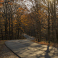 Brown County State Park Nashville Indiana Road by David Haskett II
