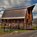Brown Roof Barn by Stan Manning