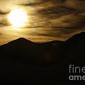 Brown Sky And Ridge by Blake Richards
