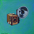 Brownie Box Camera by The Vintage Painter