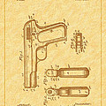 Browning 1903 Automatic Pistol Patent by Barry Jones