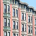 Brownstone Art Hoboken Nj by Regina Geoghan