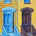 Brownstone Mural Art by Regina Geoghan