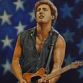 Bruce Springsteen 'born In The Usa' by David Dunne