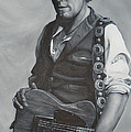 Bruce Springsteen I by David Dunne