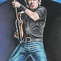 Bruce Springsteen  by Melinda Saminski