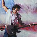 Bruce Springsteen The Boss by Viola El