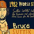Bruce Sutter St Louis Cardinals by Jay Perkins
