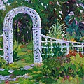 Brucemore Garden Gate by Tara Moorman