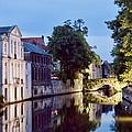 Brudges Canal Bridge by Phyllis Taylor
