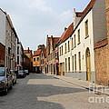 Bruges Side Street by Carol Groenen