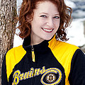 Bruins Girl by Greg Fortier