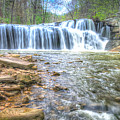 Brush Creek Falls Located In West Virginia by Michael Bowen