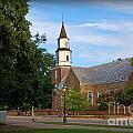 Bruton Parish Church by Aaron  Shortt