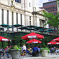 Bryant Park At Noon by Dora Sofia Caputo Photographic Art and Design