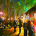 Bryant Park Evening by Richard Trahan