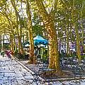 Bryant Park October by Liz Leyden